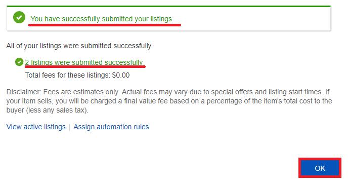 ebay http https success